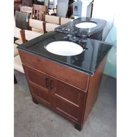Studio District Black and Brown Vanity
