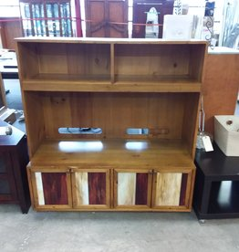Studio District Store Wooden Entertainment Unit