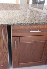 Vaughan Store Corner Kitchen Base Cabinets with Granite
