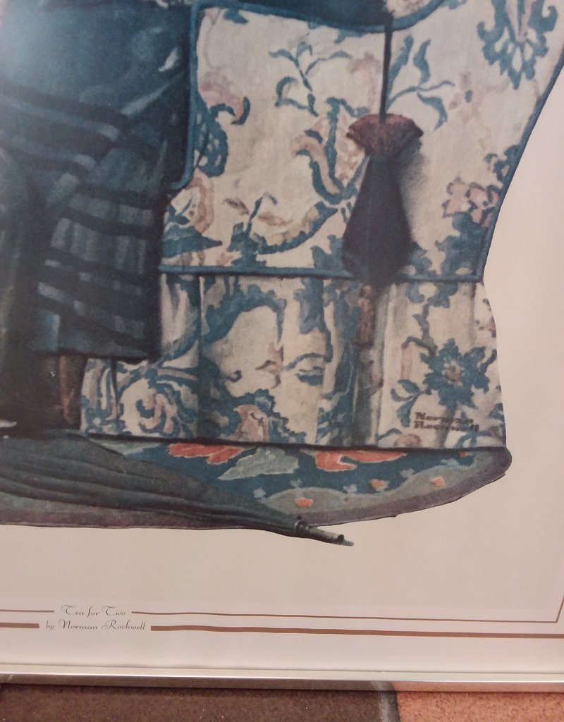 Vaughan Store Framed Norman Rockwell Prints