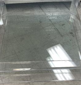 Brampton Store Large Glass Table