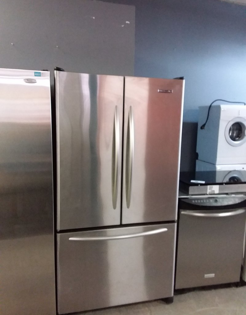 Studio District Store Stainless Steel Kitchenaid Fridge