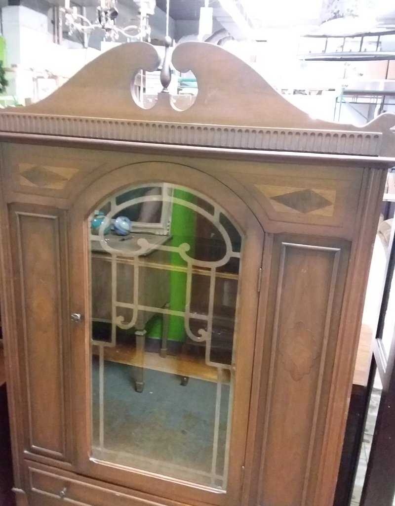 Etobicoke Store antique display cabinet
