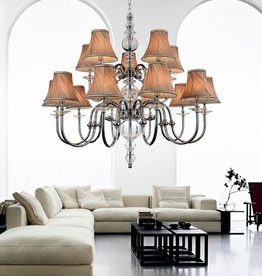Scarborough Store Chrome Chandelier