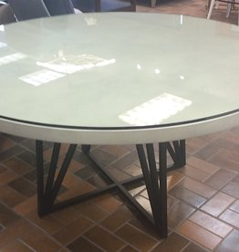 Vaughan Store White Round Table