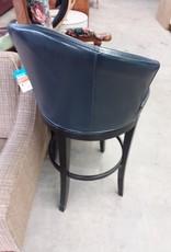 Studio District Store Blue Pleather Bar Chair
