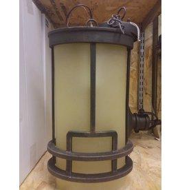 Vaughan Deep Bronze Outdoor Hanging Lantern
