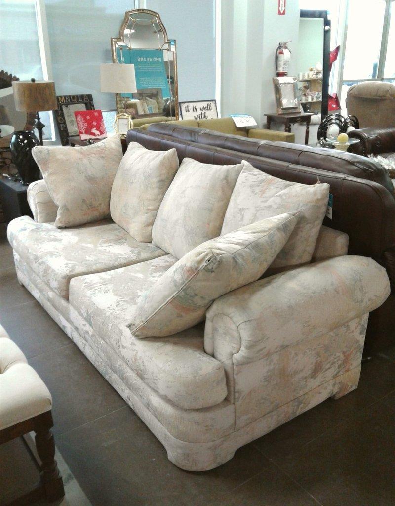 Woodbridge Store Light Patterned Sofa