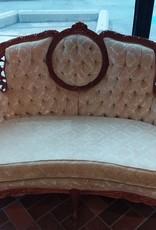 Vaughan Store Light Gold Victorian Ornate Sofa