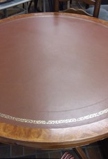 Vaughan Store Brown Round Wooden Table