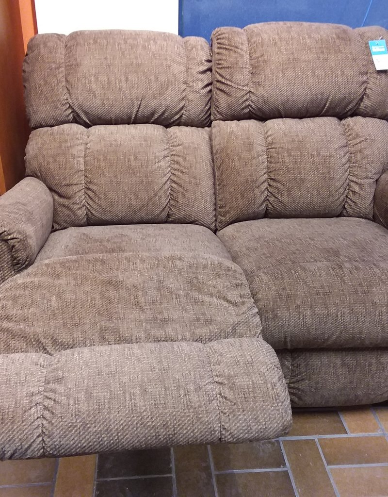 Vaughan Store LAZYBOY Chocolate Reclining Loveseat
