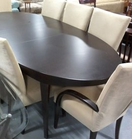 Markham East Store Dining table with 8 chairs