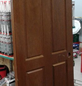 Woodbridge Store 4-Panel Hollow Core Mahogany Door