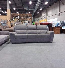 Markham West Store Sofa (New) Grey Recliner