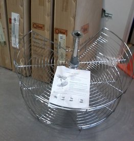 Markham East Store Lazy Susan - Full Round Metal