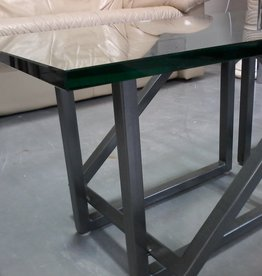 Markham East Store Coffee Table - Glass