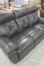 Scarborough Store Black Recliner Sofa