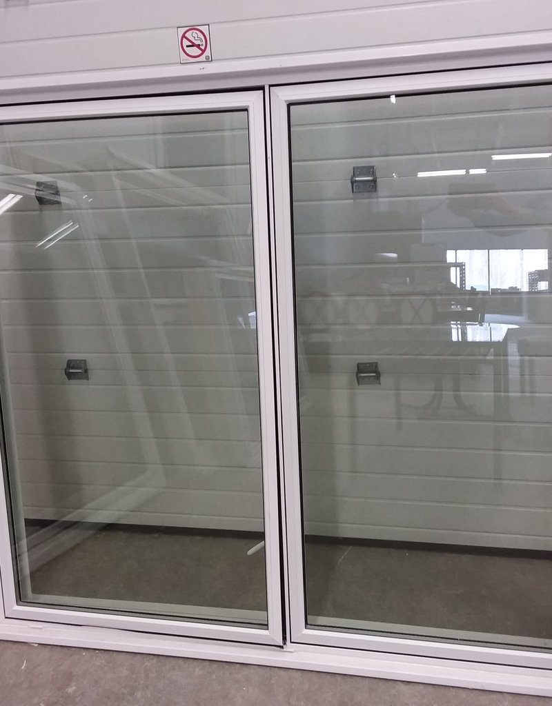 North York Store 2-panel window with frame