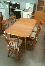 Woodbridge Store Solid Wood Kitchen Dining Set
