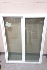 North York Store Sliding double pane window with frame