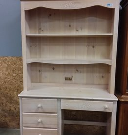 Scarborough Store White Washed Desk