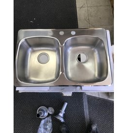 Brampton Double Stainless Sink
