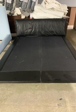 Scarborough Store Black Queen Size Bed (No box-spring needed)
