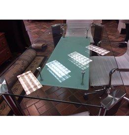 Vaughan Glass Top Desk