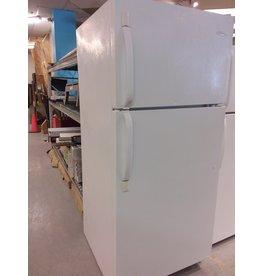 Vaughan ''FRIGIDAIRE'' White Top-Freezer Refrigerator
