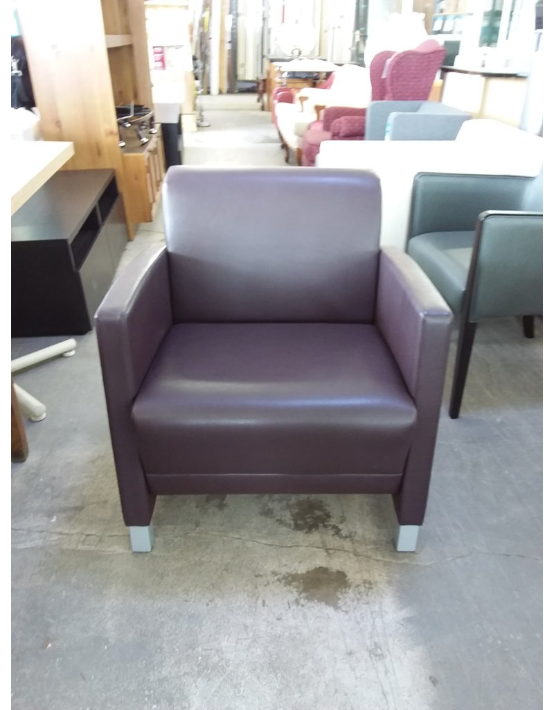 Studio District Purple Armchair