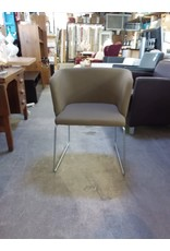 Studio District Green and Brown Armchair
