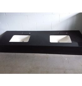 North York Vanity countertop with 2 sinks