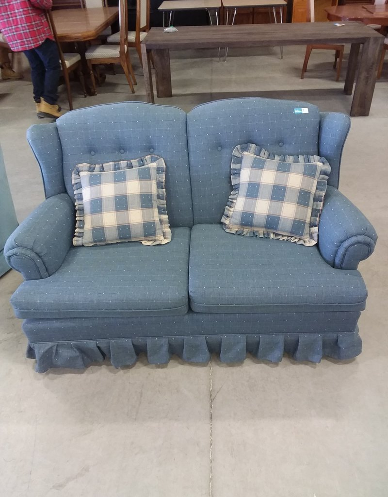 Markham West Store Blue love seat