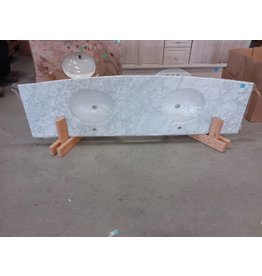 Markham West Marble bathroom countertop