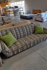 Markham West Store Plaid Sofa