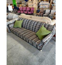 Markham West Plaid Sofa