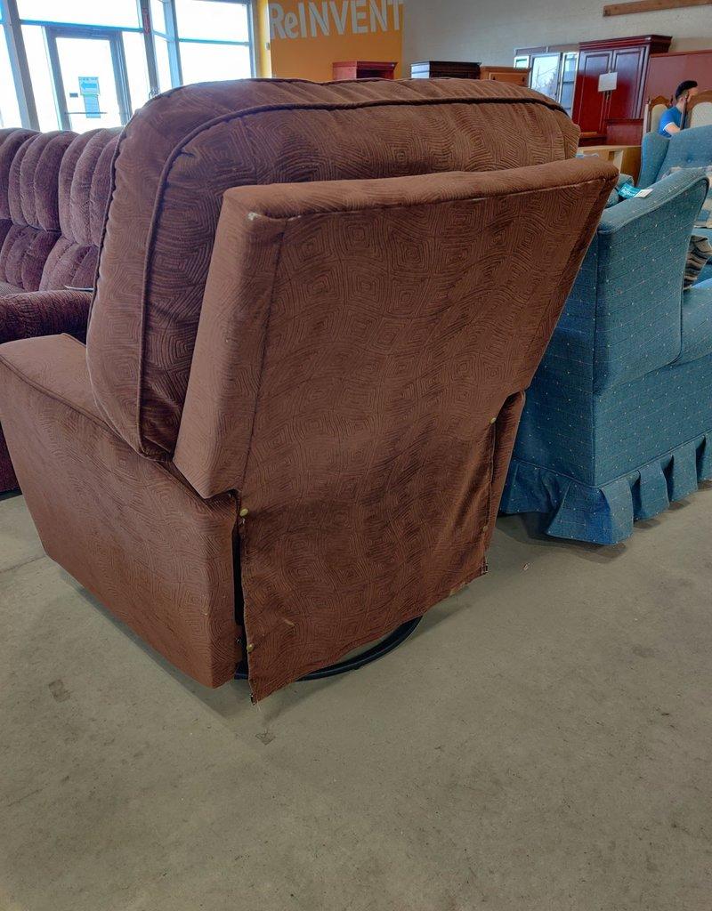 Markham West Store Brown recliner arm chair