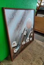 Markham West Store 3D flower painting