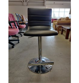 Markham West Black bar stools