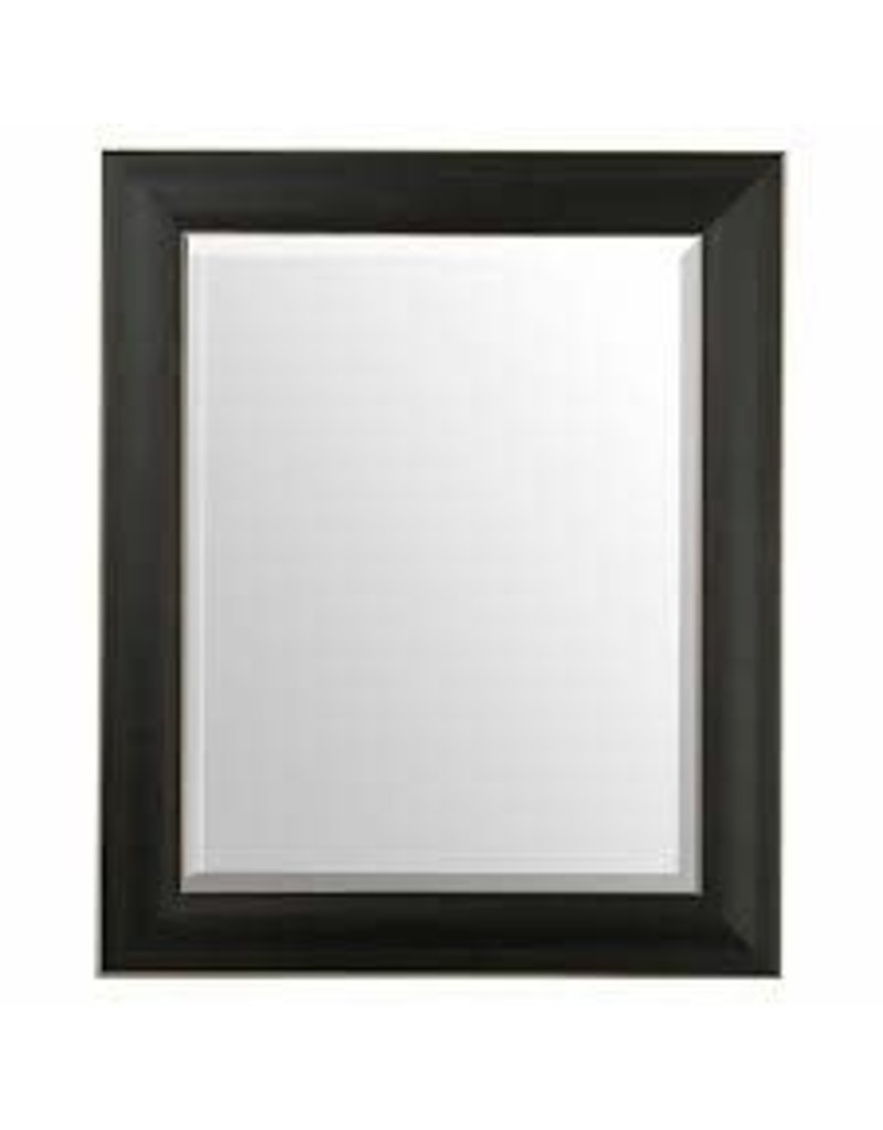 Vaughan Black Wood Frame Mirror