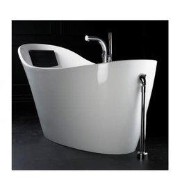 North York White Slipper  Bath Tub