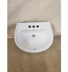 East York UPC Bathroom Pedestal Sink