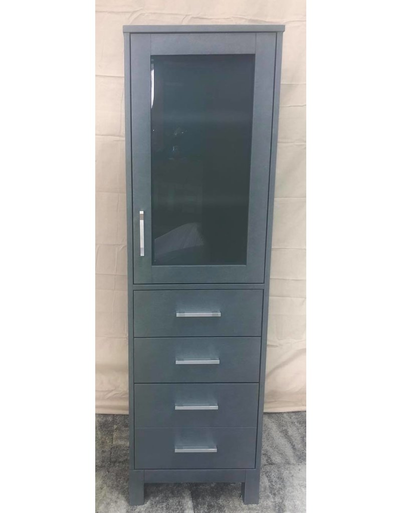 Markham West Linen Tower - French Grey