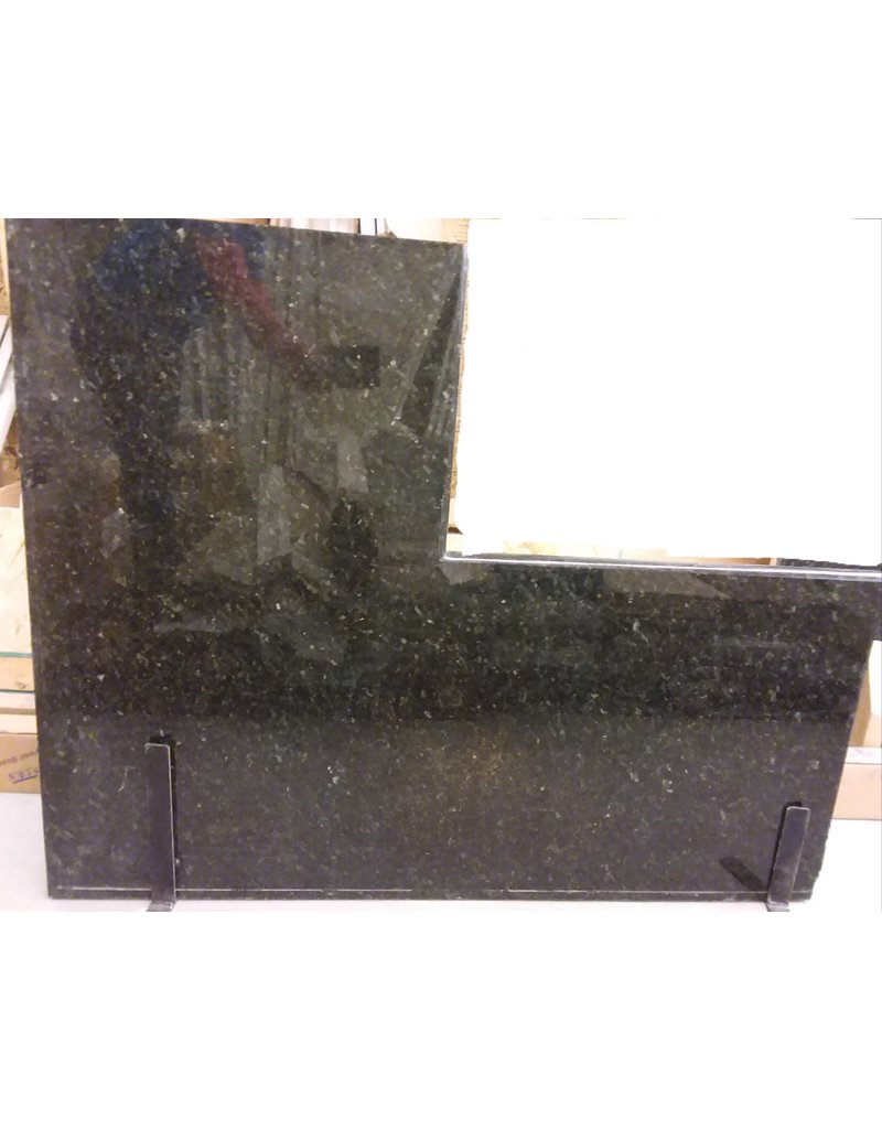 Vaughan 2-piece Black Granite Counter top