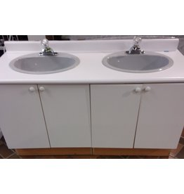 Vaughan Double Vanity w/ faucets and sinks