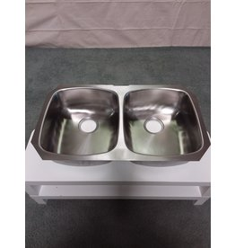 Studio District Stainless steel double sink