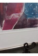 Studio District Original relief print