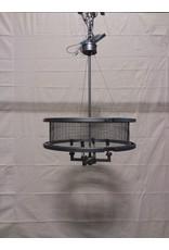 Studio District 4 light round metal chandelier