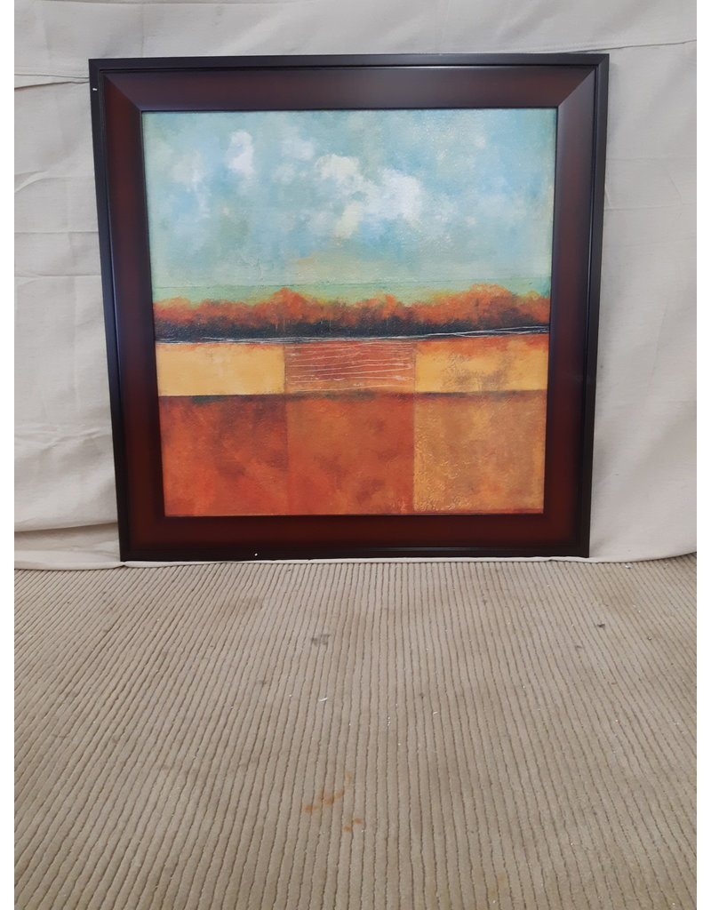 East York 31,5 x 31,5 Picture Framed