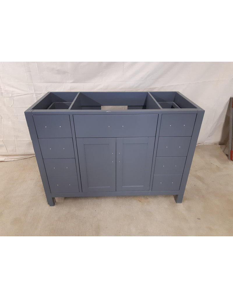 "East York 47"" W Grey Vanity Cabinet"